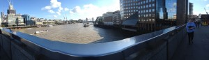 Panoramic View From London Bridge