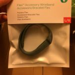 A new band for my Fitbit Flex.