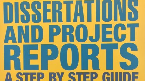 Dissertations And Project Reports A Step By Step Guide - Stella Cottrell