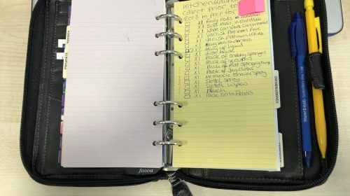 Another List In My Filofax